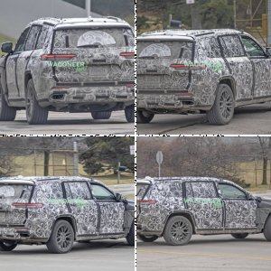 2022 Jeep Grand Cherokee-Based 3-Row SUV Drops Disguise